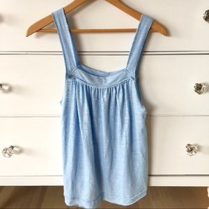 Free people Good for You blue tank - XS 💙